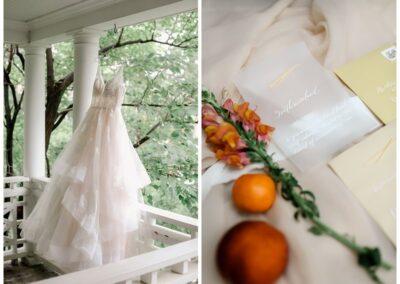 Bride Dress Winstead balcony